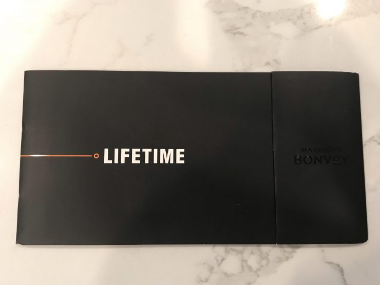 Marriott Lifetime Titanium Elite