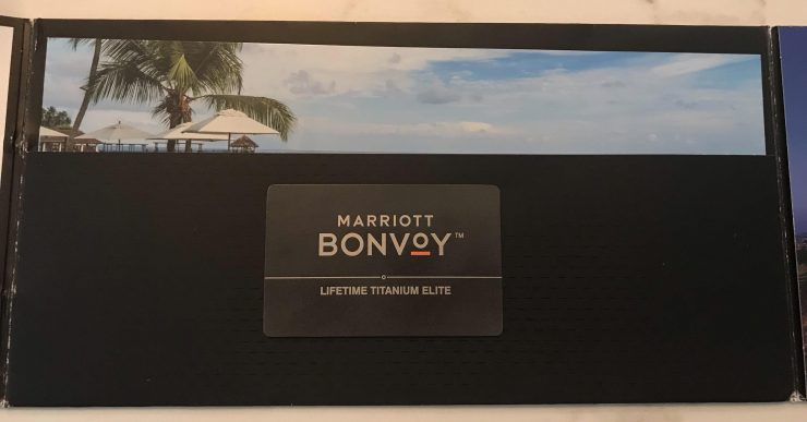 Marriott Lifetime Titanium Elite Membership Package