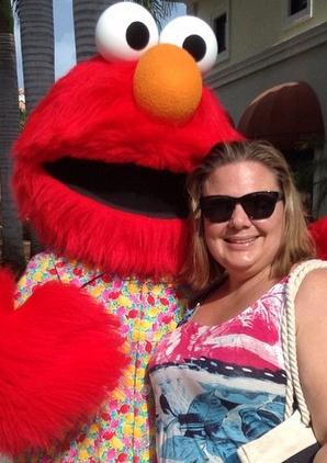 Never too old to tickle Elmo! Beaches Turks and Caicos Review