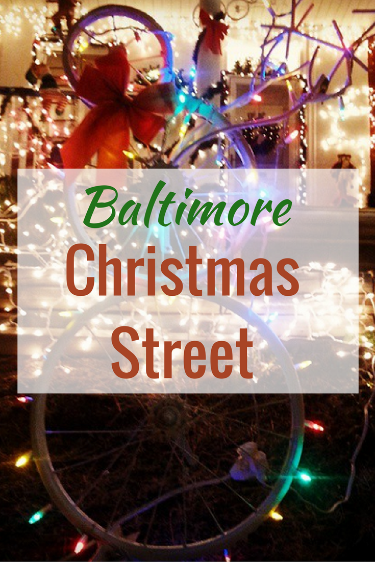 Baltimore miracle on 34th street christmas street