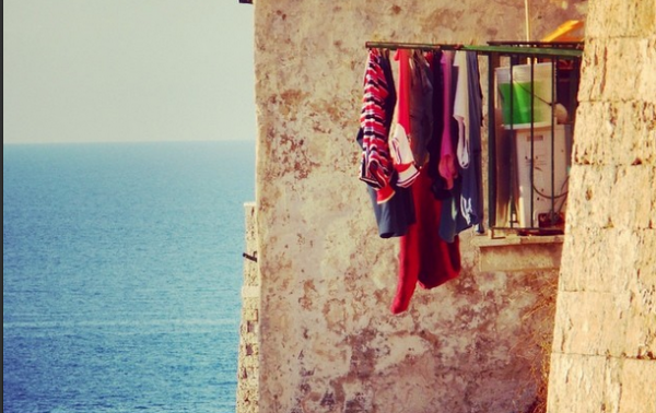 One of my favorite shots of Italy's Adriatic Coast, August 2014