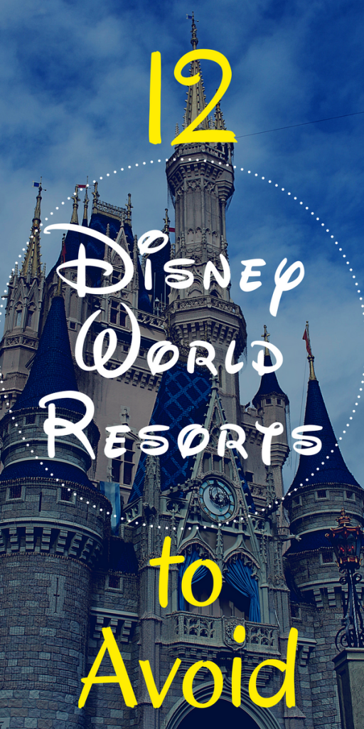 Everyone tells you which Disney World Hotels to choose. I'm here to tell you which Disney World Resorts to avoid.