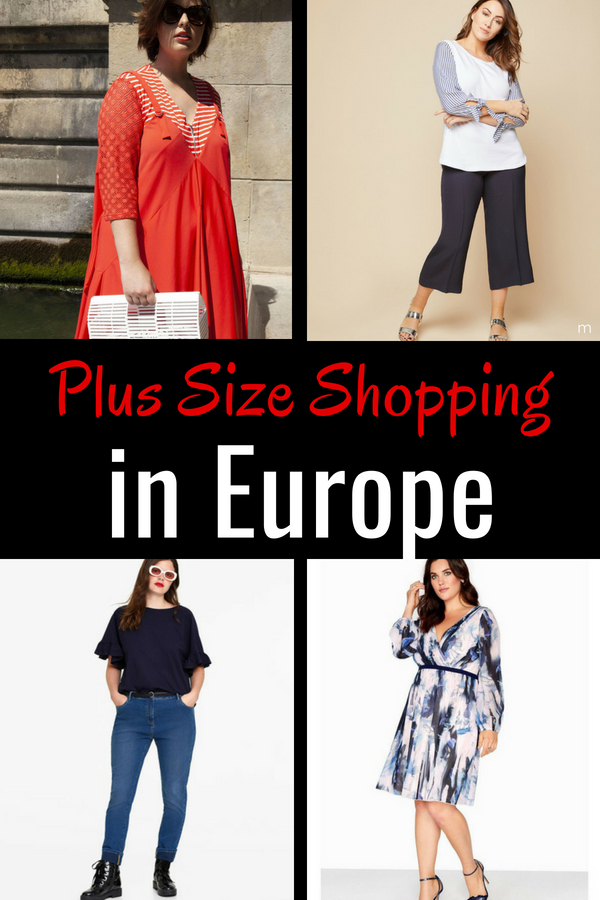 Plus Size Stores in Europe: you can find fashion that fits! Check out my favorite finds.