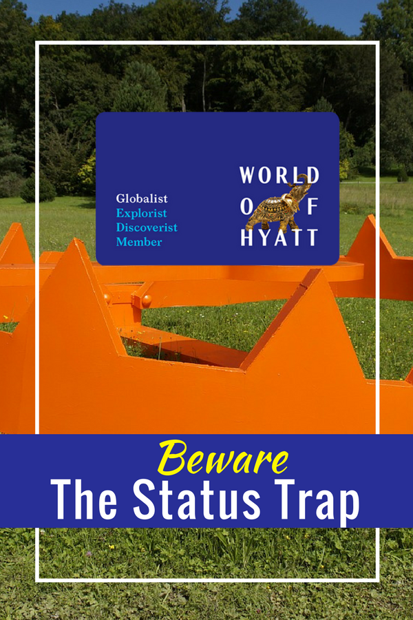 Beware the status trap! Is elite status clouding your judgement?