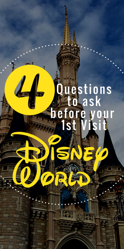 4 Questions to ask before your first trip to Disney World. Save yourself stress by knowing these answers in advance!