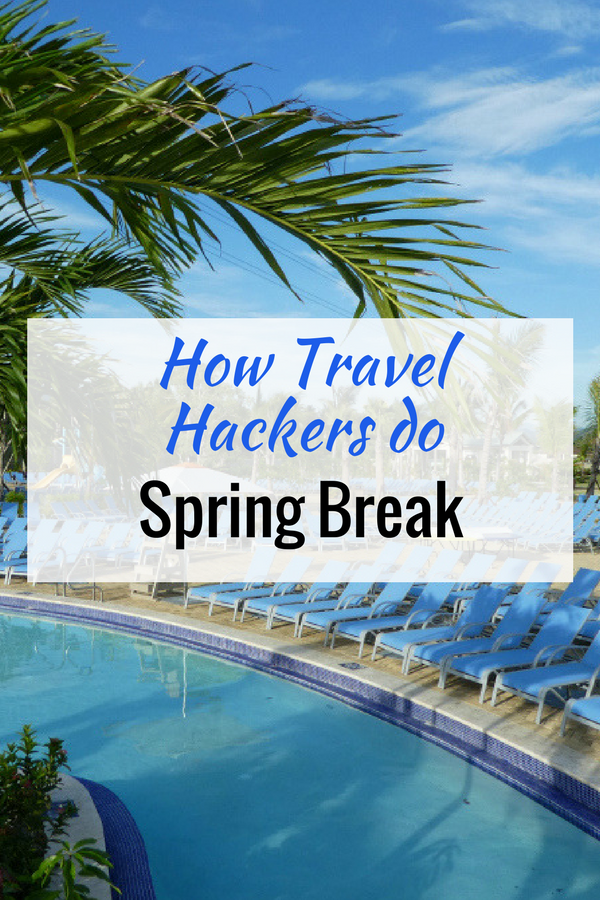 Hacking Spring Break: A new survey by Traveling Mom and Vacatia shows how Travel Hackers think differently than the rest of you.