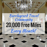 Barclaycard Travel Community: Earn 20,000 + Miles/Month With Your Status Updates