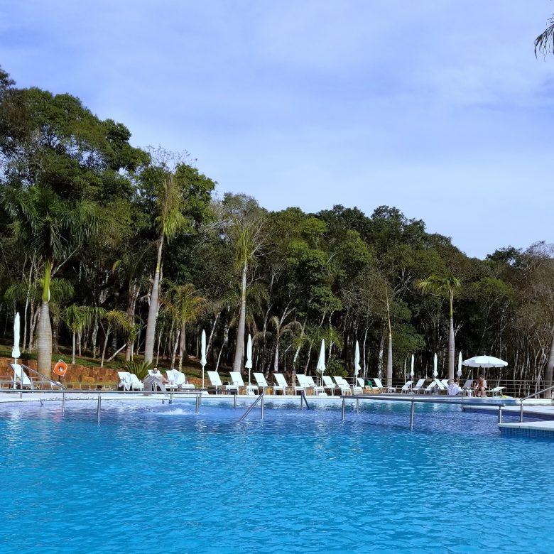 The pool at the new Falls Iguazu hotel and spa.