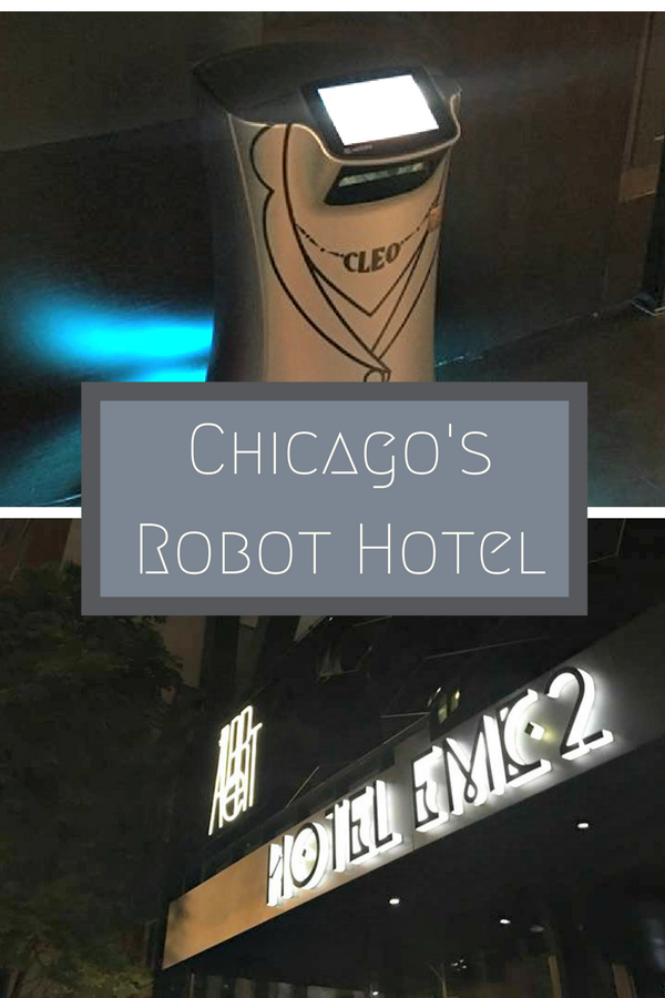 Hotel EMC2 Chicago Review: Robots. Need I say more?