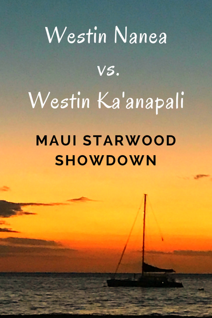 Trying to decide between the Westin Ka'anapali vs. Westin Nanea? I lay out the pros and cons of each.