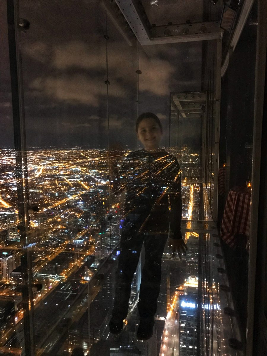 The Skydeck is the setting for the best place to eat in Chicago.