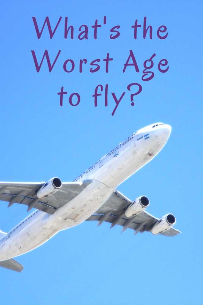 What's the worst age to fly? I have a definite answer.