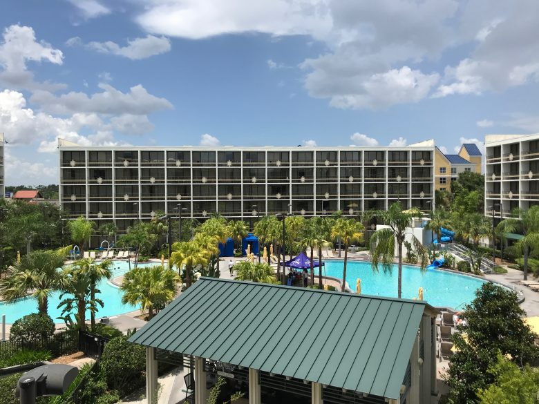 The Sheraton Lake Buena Vista is the best deal for Disney World Hotels using points.