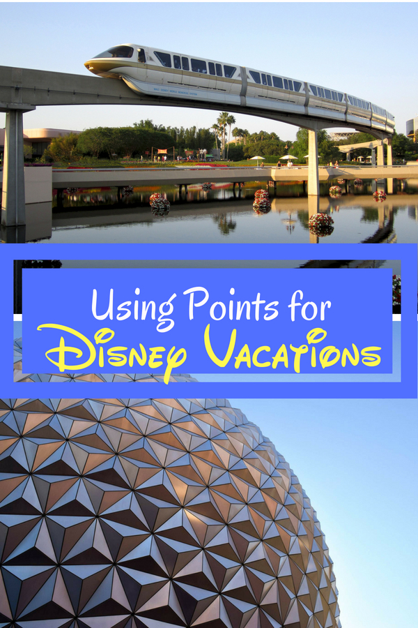 Learn five new ways to use points for Disney vacation. #Disney #FamilyTravel #DisneyWorld #Disneyland