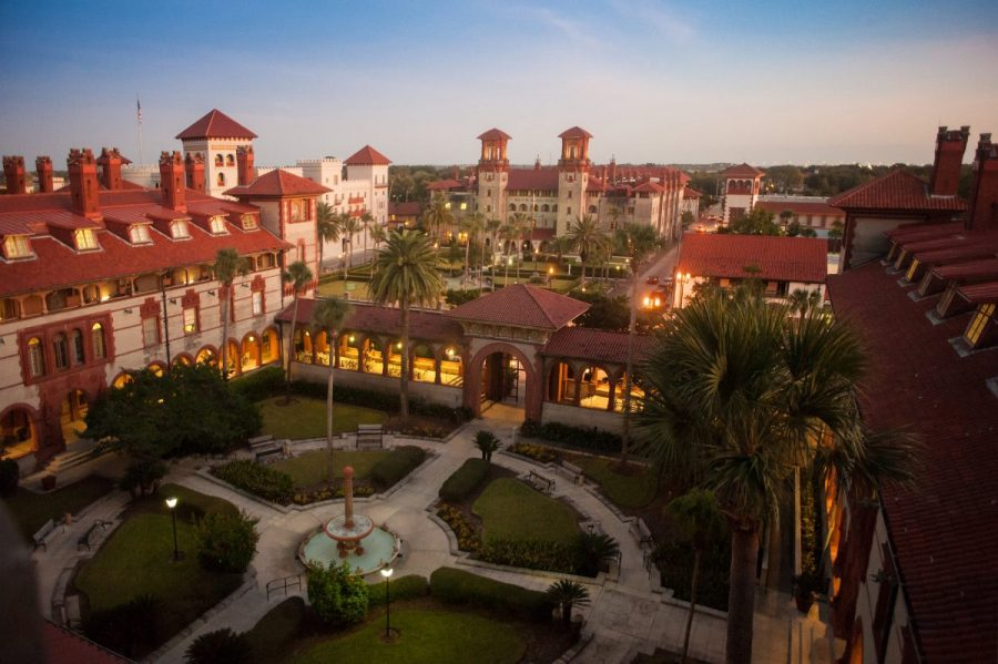 Historic Sites of St. Augustine: Flagler College resides on the grounds of the Ponce de Leon Hotel, a St. Augustine hidden gem. Image via St. Augustine Tourism