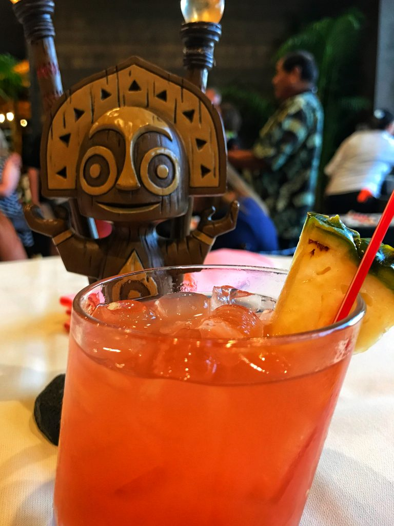 Drinks feature heavily in my Disney World Highway in the Sky review.