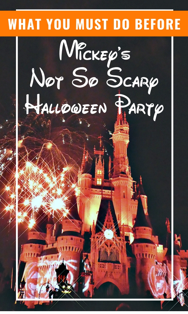 mickey's halloween party tips