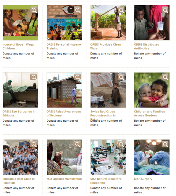 Donate Miles- with Etihad Guest
