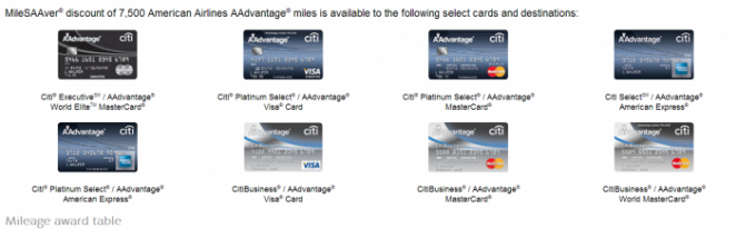8 versions of Citi Card