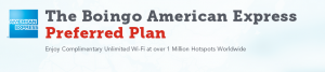 Free Boingo Internet for American Express Platinum Holders