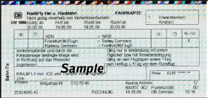 Rail and Fly Tickets using IATA Railway Codes