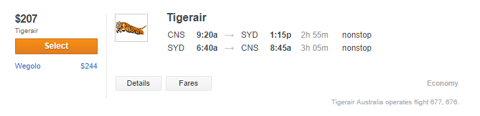 Tiger Air, OK sometimes even I might pay for a flight... maybe.