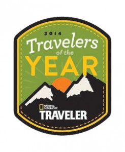 National Geographic Traveler names Rebecca Rothney a 2014 Traveler of the Year