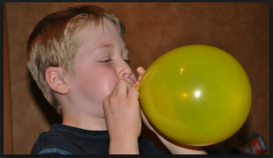 Blowing up Balloon
