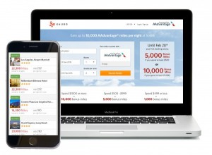 Up to 10,000 AAdvantage or MileagePlus miles with Kaligo