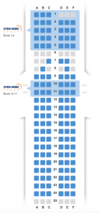 JetBlue Shows seat map
