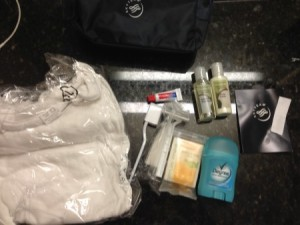 Giveaway – One used Amenity Kit