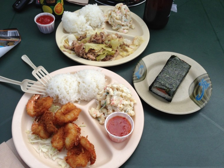 Hawaiian food-yummy!