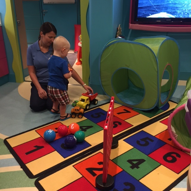 Entry Playroom to the Guppies Nursery