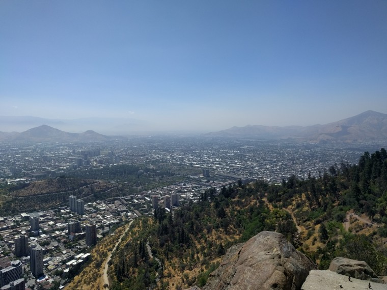 The view from the top of