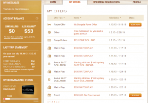 borgata mycomps