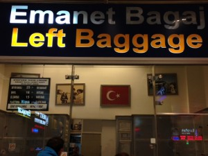 IST Airport Left Luggage