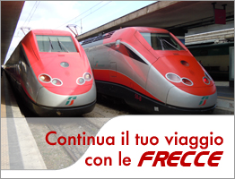 Direct Trenitalia Route From Fiumicino (FCO) to Venice