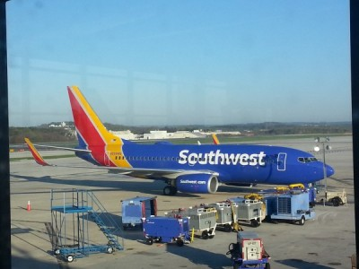 Reflections from flying Southwest