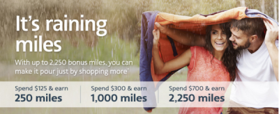 It's Raining AAdvantage Miles and United Improves it's Shopping Portal