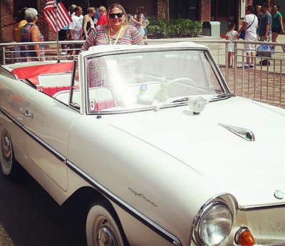 It's a Car, It's a Boat, It's Amphicar! (And You Can Ride One at Disney World)