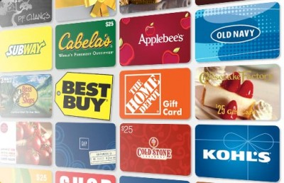 Do you stockpile store gift cards?