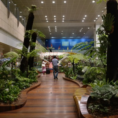 Will adding capacity knock Singapore's Changi off of it's pedestal?