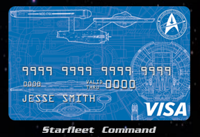 11-6-2015 Official Star Trek Credit cards (3x at StarTrek.com!); Plus a $0 annual fee 2% card you've probably never heard of…