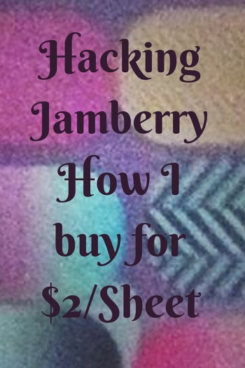 My Hack to Find Discount Jamberry (From $2/Sheet)