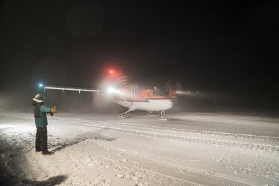 Antarctic Medical Evacuation Update