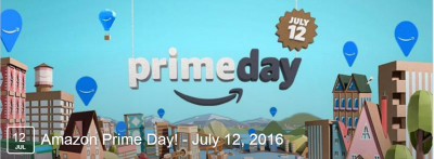 Don't Forget – Today is Amazon Prime Day!