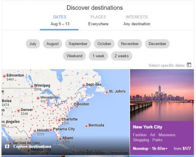 Family Travel Hacking Guide: Using Google Flights to search airfare