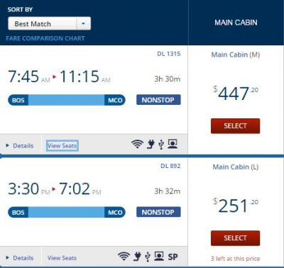 Getting desirable flight times for less with same-day changes