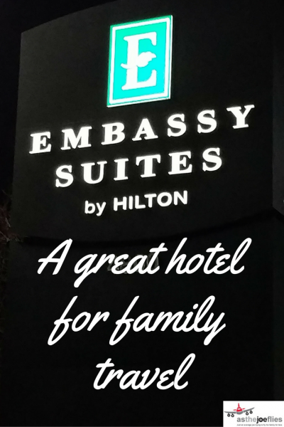 Discovering the family friendly Embassy Suites