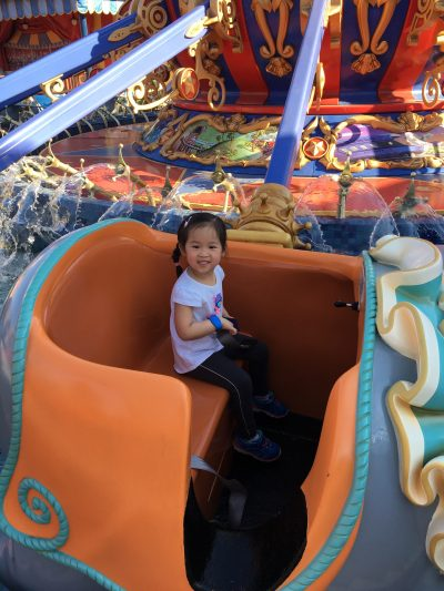 A child scared of Disney World rides can still have a magical time